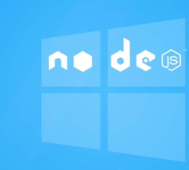 Node js installation in Windows 2008 R2 Server - The